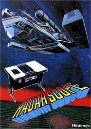 Advert for Radar Scope on the Nintendo Arcade Systems.