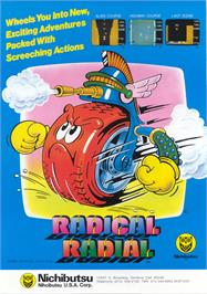 Advert for Radical Radial on the Arcade.