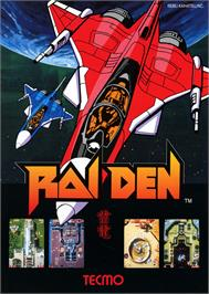 Advert for Raiden on the Atari Lynx.