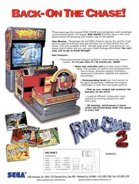 Advert for Rail Chase 2 on the Arcade.