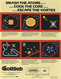 Advert for Reactor on the Arcade.