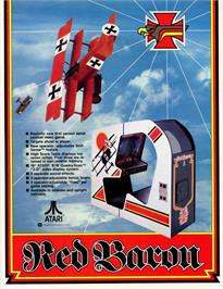Advert for Red Baron on the Bally Astrocade.