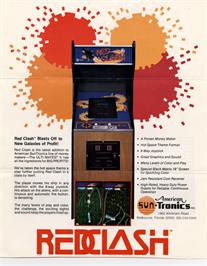 Advert for Red Clash on the Arcade.