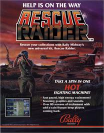 Advert for Rescue Raider on the Arcade.