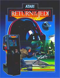 Advert for Return of the Jedi on the Arcade.