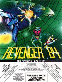 Advert for Revenger on the Arcade.