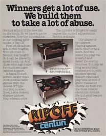 Advert for Rip Off on the Arcade.