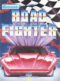 Advert for Road Fighter on the Arcade.