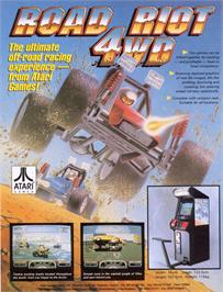 Advert for Road Riot 4WD on the Arcade.