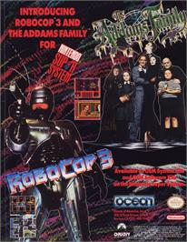 Advert for Robocop 3 on the Arcade.