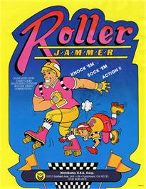 Advert for Roller Jammer on the Arcade.