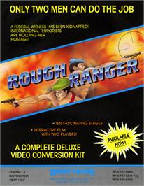 Advert for Rough Ranger on the Arcade.