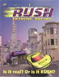 Advert for San Francisco Rush on the Arcade.