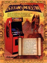 Advert for Satan's Hollow on the Arcade.