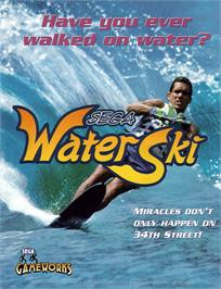 Advert for Sega Water Ski on the Sega Model 2.