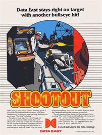 Advert for Shoot Out on the Acorn Atom.