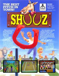 Advert for Shuuz on the Arcade.