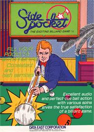 Advert for Side Pocket on the Arcade.