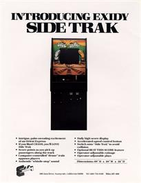 Advert for Side Track on the Arcade.