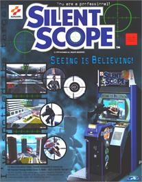 Advert for Silent Scope on the Sega Dreamcast.