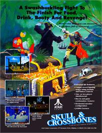 Advert for Skull & Crossbones on the Amstrad CPC.