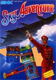 Advert for Sky Adventure on the Arcade.