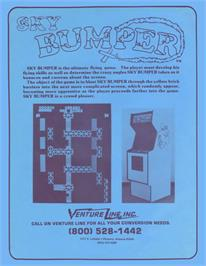 Advert for Sky Bumper on the Arcade.