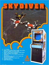 Advert for Sky Diver on the Atari 2600.
