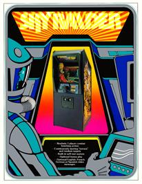 Advert for Sky Raider on the Arcade.