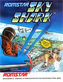 Advert for Sky Shark on the Arcade.
