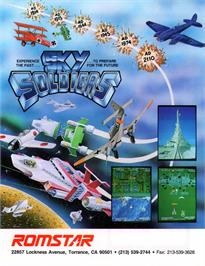 Advert for Sky Soldiers on the Arcade.