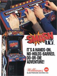 Advert for Smash T.V. on the Arcade.