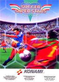 Advert for Soccer Superstars on the Commodore Amiga.