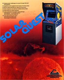 Advert for Solar Quest on the Arcade.