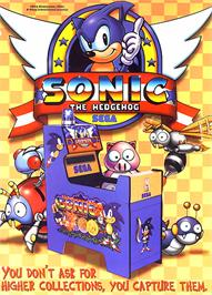 Advert for Sonic The Hedgehog on the Nintendo Game Boy Advance.