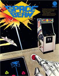 Advert for Space Beam on the Arcade.