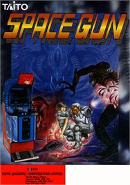 Advert for Space Gun on the Arcade.