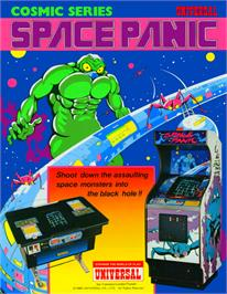 Advert for Space Panic on the Coleco Vision.
