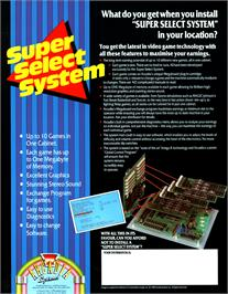 Advert for Space Ranger on the Arcade.