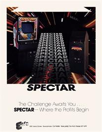 Advert for Spectar on the Arcade.