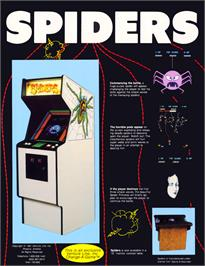 Advert for Spiders on the Arcade.