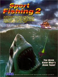 Advert for Sport Fishing 2 on the Arcade.