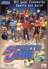 Advert for Sports Jam on the Sega Naomi.