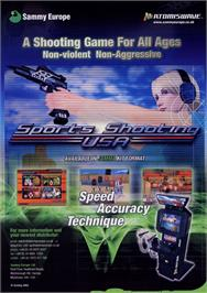 Advert for Sports Shooting USA on the Arcade.