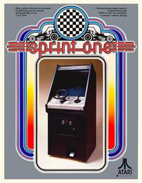 Advert for Sprint 1 on the Arcade.