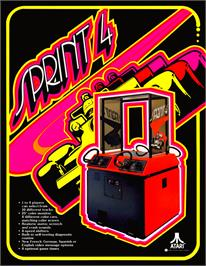 Advert for Sprint 4 on the Arcade.