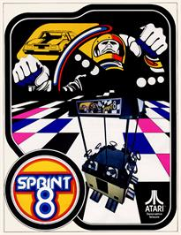 Advert for Sprint 8 on the Arcade.