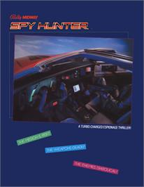 Advert for Spy Hunter on the Arcade.
