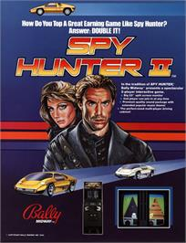 Advert for Spy Hunter 2 on the Arcade.
