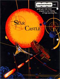 Advert for Star Castle on the GCE Vectrex.